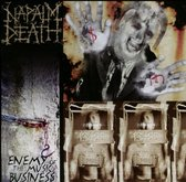 CD cover van Enemy Of The Music Business van Napalm Death