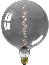 Calex Colors Kalmar - Titanium - led lamp - Ø200mm - Dimbaar
