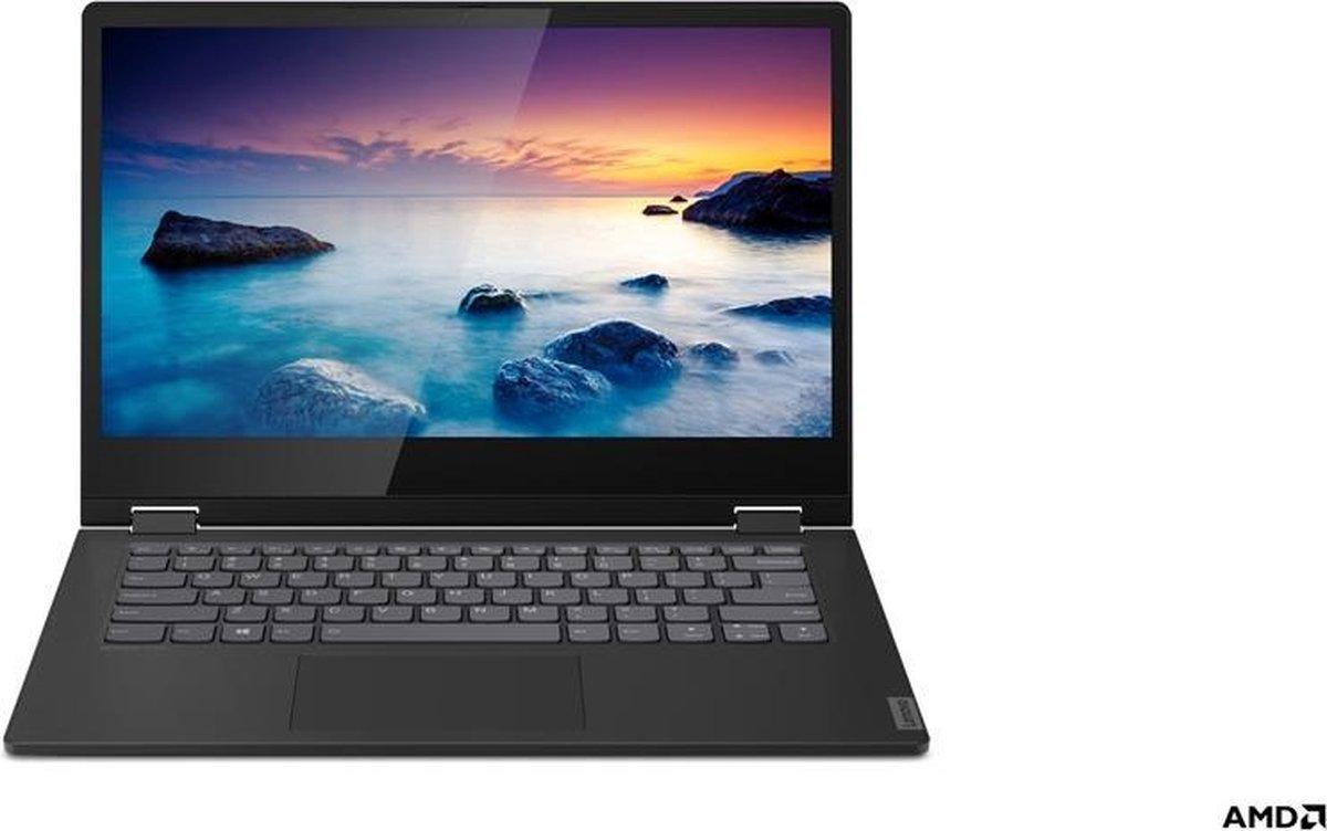 "Lenovo IdeaPad C340 Hybride (2-in-1) Zwart 35,6 cm (14"") 1920 x 1080 Pixels Touchscreen AMD Ryzen 3 8 GB DDR4-SDRAM 256 GB SSD Wi-Fi 5 (802.11ac) Windows 10 Home S"