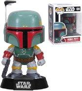 Funko Pop! Star Wars Bobble: Boba Fett - Verzamelfiguur