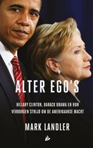 Boek cover Alter egos van Mark Landler (Onbekend)