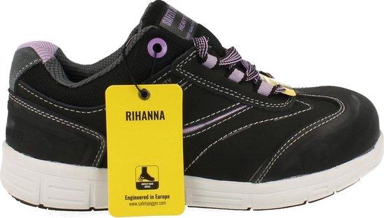 Safety Jogger Sneaker Laag Rihanna Veiligheidsschoen S3 - Zwart   38