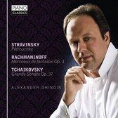 Stravinsky, Rachmaninoff, Tchaikovsky