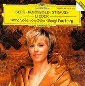 Berg; R. Strauss; Korngold: Lieder / Otter, Forsberg