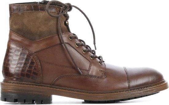 Giuseppe Maurizio Mannen Boots -  G3014 - Bruin - Maat 45