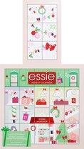 Essie adventskalender 2020 - nagellak adventskalender met 18 flesjes nagellak - het cadeau voor haar (of jezelf) tijdens de feestdagen