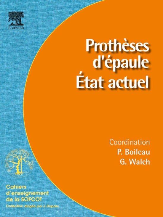 Boek cover Prothèses dépaule. État actuel van Pascal Boileau (Onbekend)