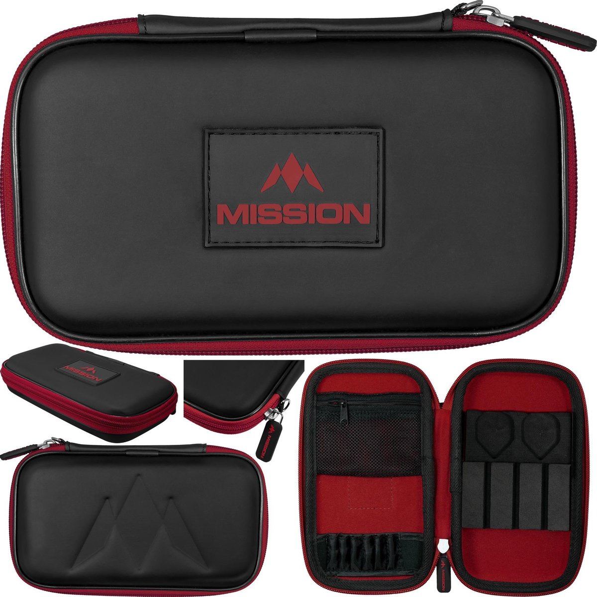 Mission Freedom XL Darts Case - Rood