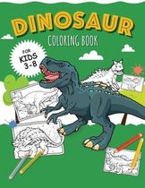 DINOSAURS - Coloring Book for Boys