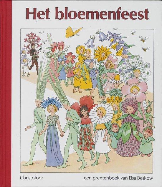Omslag van Elsa Beskow klassiekers  -   Het bloemenfeest