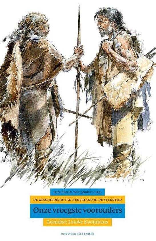 Boek cover Algemene geschiedenis van Nederland 1 -   Onze vroegste voorouders van Leendert Louwe Kooijmans (Hardcover)