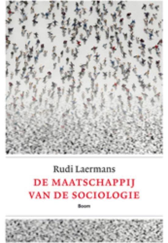 Cover van het boek 'De maatschappij van de sociologie'