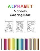 Alphabet Mandala Coloring Book