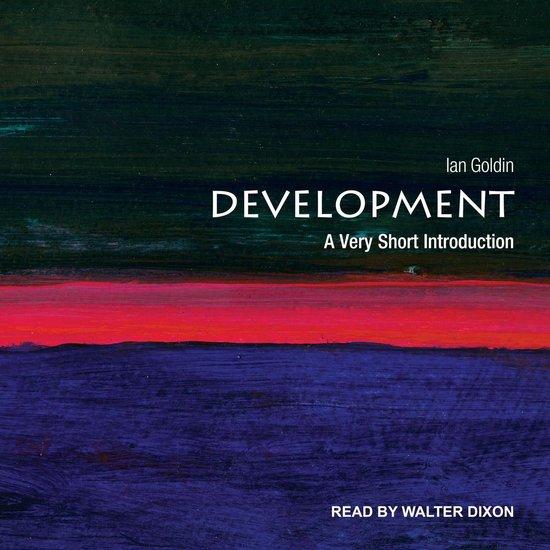 Boek cover Development van Ian Goldin (Onbekend)