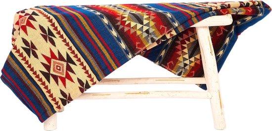 Alpaca deken Cotopaxi - Mixed colors - 195 cm x 235 cm kleurenmix