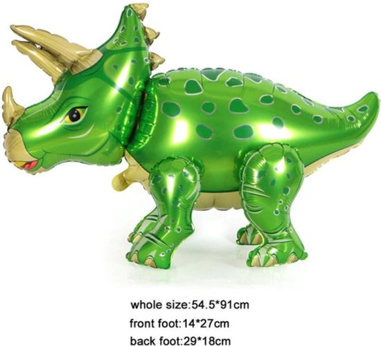 Folie ballon Dinosaurus 54.5 x 91 cm - feestballon