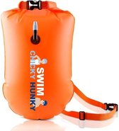 Oranje Zwemboei 28L open water zwemmen Zwemboei - Unisex   Swim Chicky & Swim Hunky