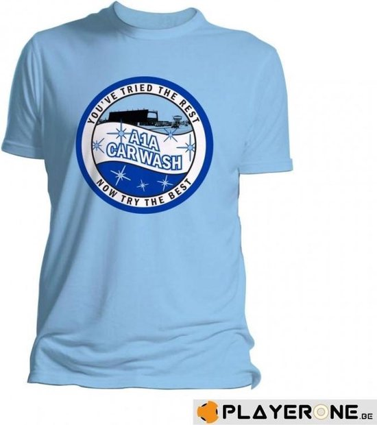 BREAKING BAD - T-Shirt A1A Car Wash Blue (S)
