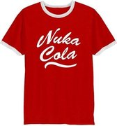 FALLOUT - T-Shirt Nuka Cola - Red/White (M)