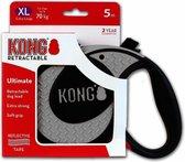 Kong Retractable Leash Ultimate Grey XL