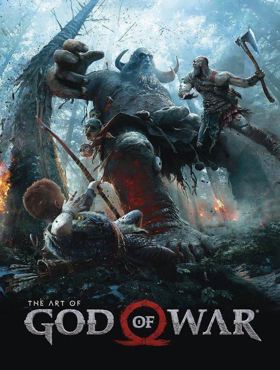 Boek cover The Art Of God Of War van Sony (Hardcover)