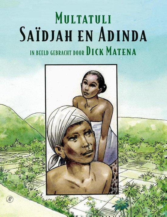 Boek cover Saïdjah en Adinda van Multatuli (Paperback)