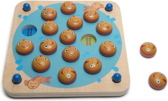 Afbeelding van het spel BS Toys Memo Vissen - Memory Spel van Hout