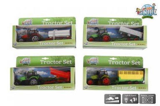 Tractor kids globe met licht en geluid