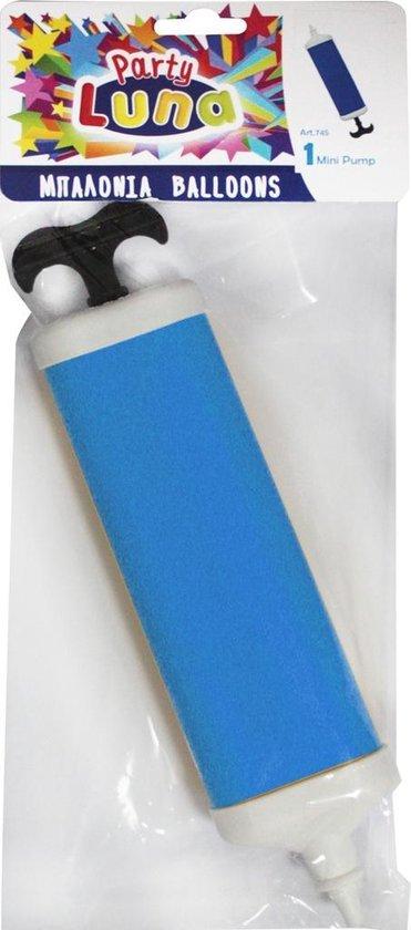 Diakakis Mini Ballonnenpomp Blauw