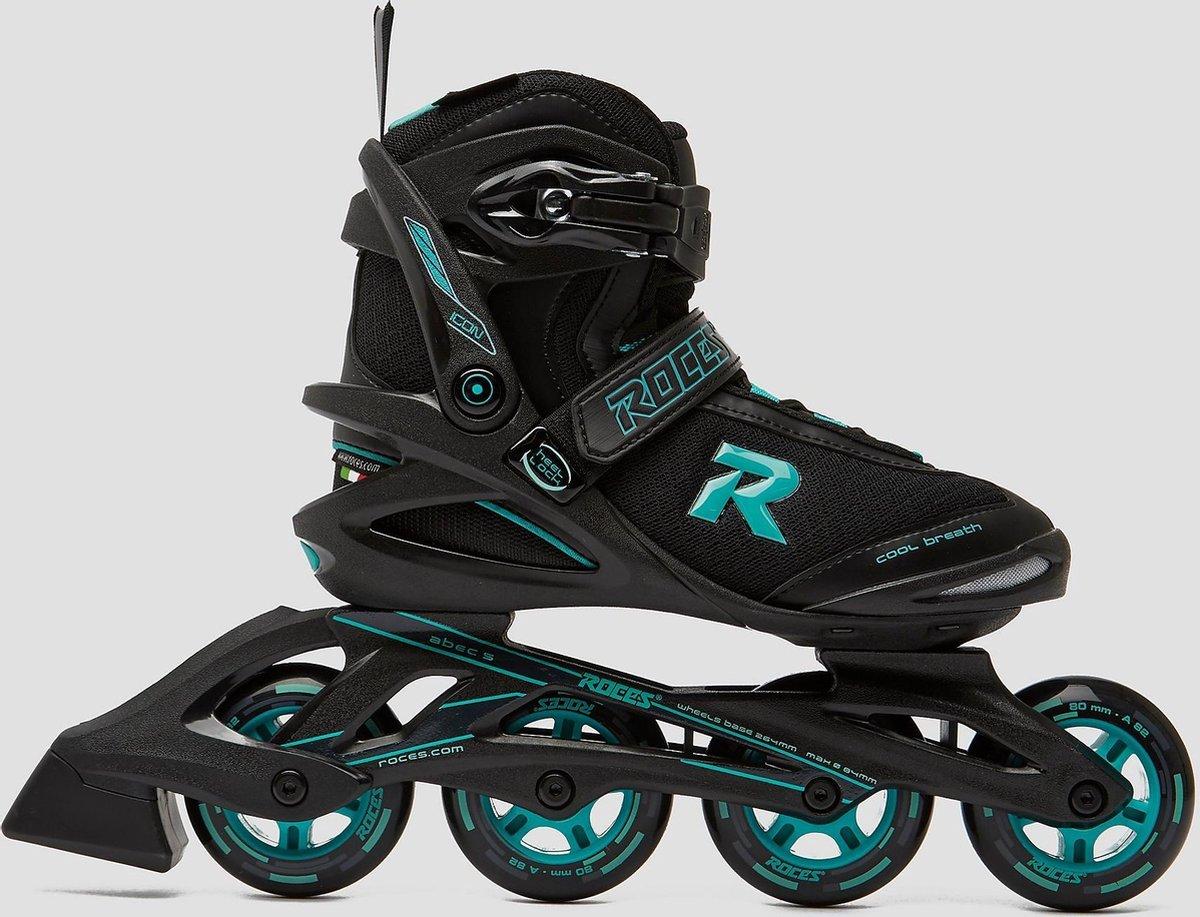 Roces Icon Inline Skates/Skeelers Zwart/Groen Volwassenen