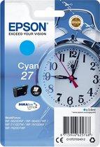 Epson 27 - Inktcartridge / Cyaan