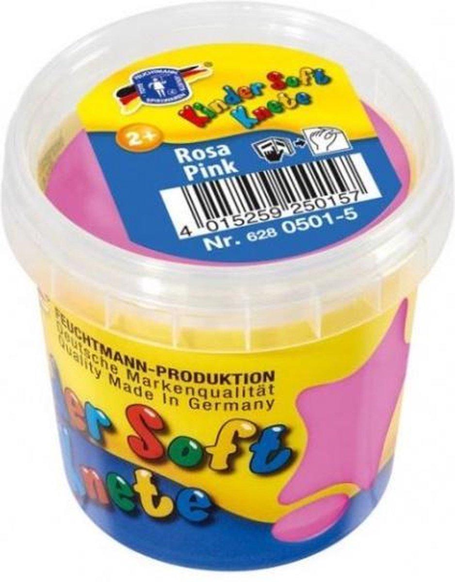 Kinder Soft Knete Basic Klei 150 gram Roze