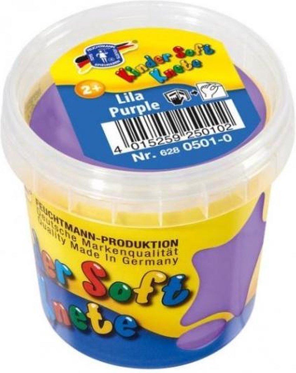 Kinder Soft Knete Basic Klei 150 gram Paars