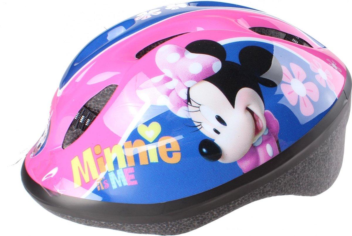 Disney Kinderhelm Met Pads Minnie Mouse Meisjes Roze 5-delig