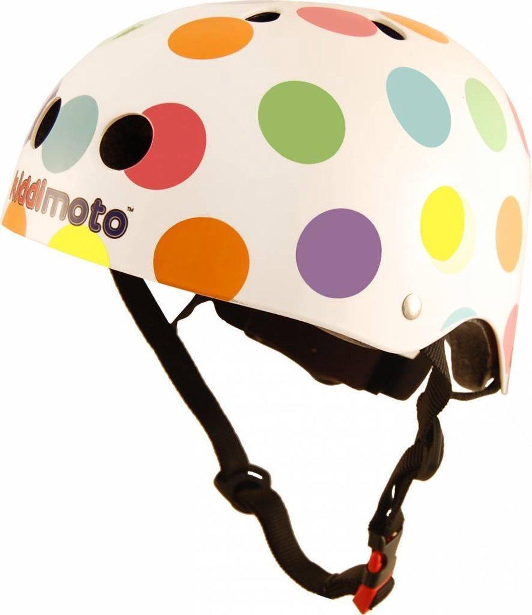 Kiddimoto helm Pastel Dotty Small