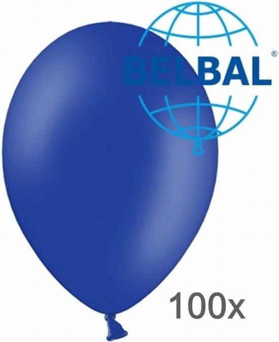 Ballonnen - Nacht blauw - 30cm - 100st.
