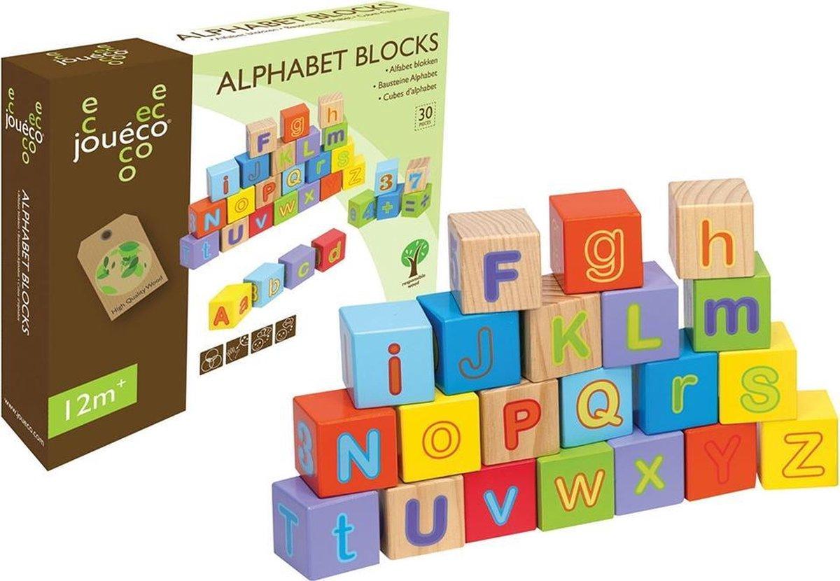 Jouéco Alfabet Blokken 30-delig
