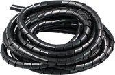 Kabelgoot spiraalslang - kabel geleider - 7,5 meter - diameter 10 mm - kabelslang