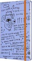 Moleskine Limited Edition-Notitieboek-Basquiat-Large-Blanco-Schetsboek