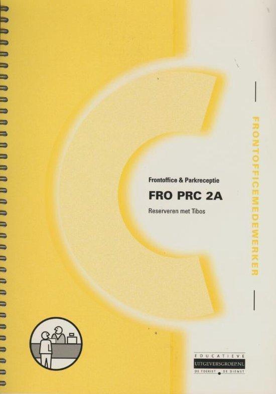Fro Prc 2A / Reserveren Met Tibos - R. Van Den Heuvel |