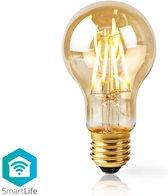 Nedis Wi-Fi Smart LED Filament Lamp   E27   A60   5 W   500 lm