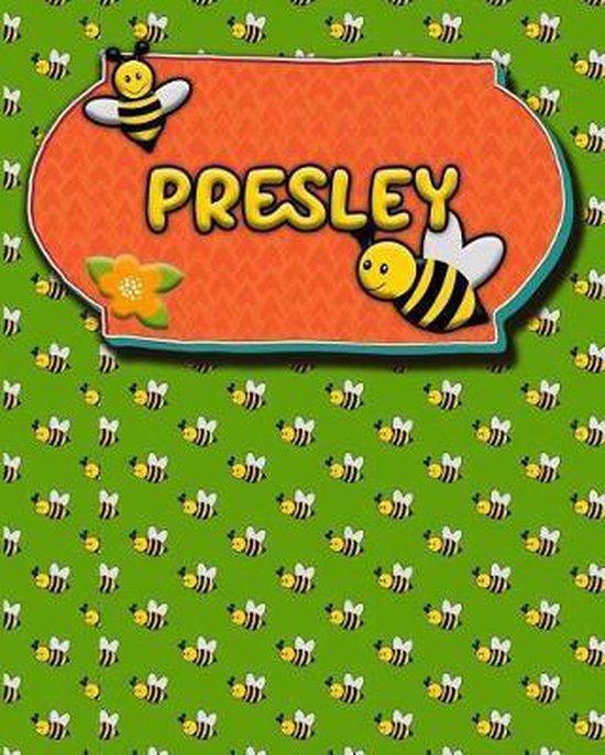 Handwriting Practice 120 Page Honey Bee Book Presley