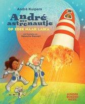 André het astronautje op zoek naar Laika