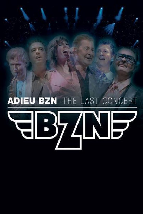 Cover van de film 'Adieu BZN - The Last Show'