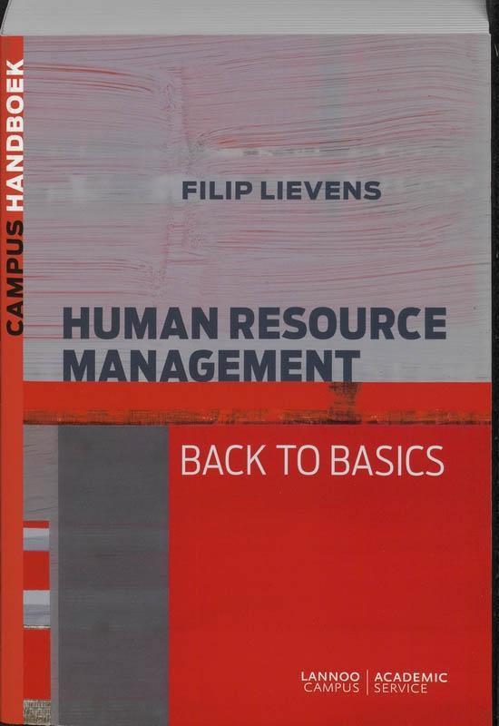 handboek Human Resource Management - Filip Lievens |