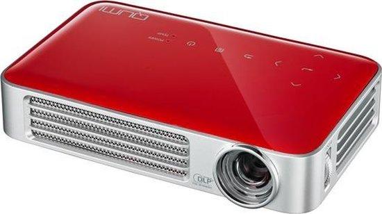Vivitek Qumi Q6 Draagbare projector 800ANSI lumens DLP WXGA (1280x800) 3D Rood, Zilver beamer/projector