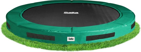 Salta Excellent Ground 427 cm Groen - Trampoline - Inground