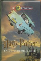 Boek cover Harry Potter 2 -   Harry Potter en de geheime kamer van J.K. Rowling (Hardcover)