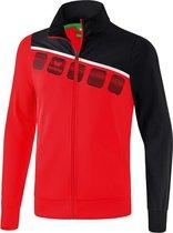 Erima 5-C Polyesterjack - Jassen  - rood - 116