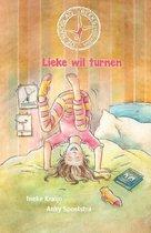 Boek cover Lieke wil turnen van Ineke Kraijo